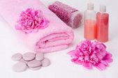 Aromaterapie zátiší — Stock fotografie