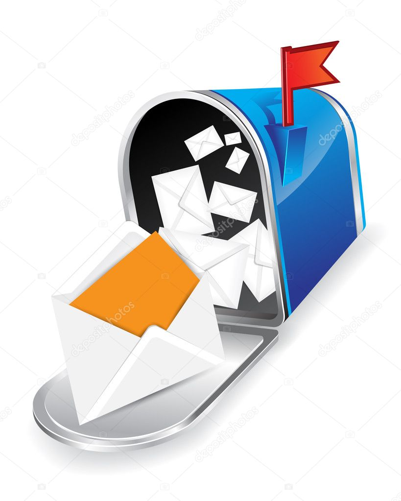 Mail box image  Stock Photo #5785421