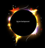 Eclipse vector effects — Stock Vector