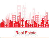Real estate — Stock Vector