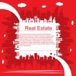 Real estate — Vector de stock #6462966
