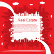 Real estate — Stok Vektör #6462966