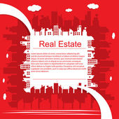 Real estate — Stockvector