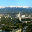 Almaty - City panorama. — Stock Photo