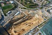 Big construction works — Stock Photo