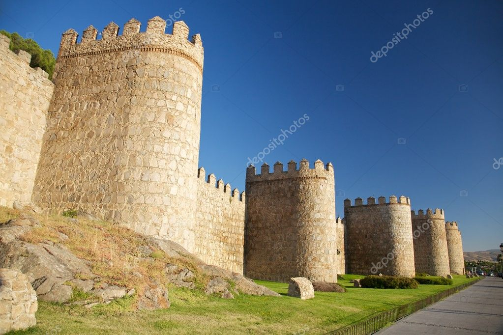 View of Avila city at Castilla in Spain — Stock Photo #5767234