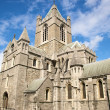 Stock Photo: Christ church cathedral side