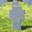 Cross headstone — Foto de Stock