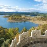 Granadilla lake from the castle — Stock Photo