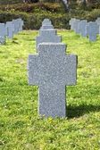Cross headstone — Stock Photo