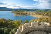 Granadilla lake from the castle — Stock Photo