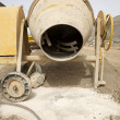 cement mixer — Stockfoto