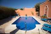 Blue pool — Stockfoto
