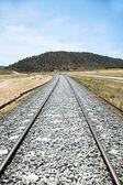 Old rail train — Stockfoto