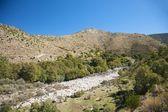 Bílé skály řeka — Stock fotografie