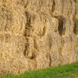 Stock Photo: Hay wall