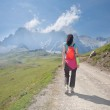 Trekking in Cantabrian mountains — Stock Photo