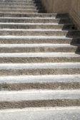 Rungs of stone stairs — Stock Photo