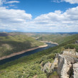Tajo river from the castle — Stock Photo