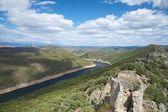 Tajo river from the castle — Stock Photo