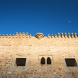Stock Photo: Battlements of castle