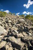 Montaña de rocas — Foto de Stock