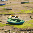 Boats in low tide — Stock Photo #6664224