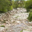 River full of stones — Stockfoto #6664713