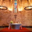 Stock Photo: Altar of Pals church
