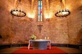 Altar of Pals church — Stock Photo