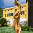 Side of nude woman statue - Stock Photo