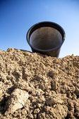 Röret på lera — Stockfoto
