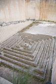Stone labyrinth — Stock Photo