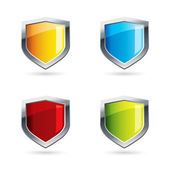 Shields — Stock Vector