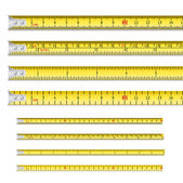 Tape measures — Stockvector