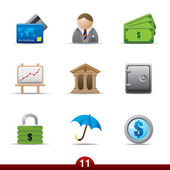 Finance icons..series no.11 — Stock Vector