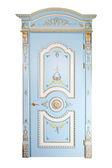 Handmade luxury door. — Stock Photo