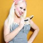 Beauty blonde — Stock Photo
