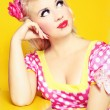 Retro pin up — Stockfoto