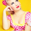 Retro pin up — Stock Photo