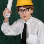 Engenheiro nerd — Foto Stock