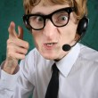 Hilarious customer service - Stock Photo
