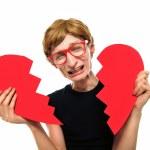 Heartbroken nerd — Stock Photo