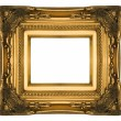 Royalty-Free Stock Photo: Golden vintage picture frame