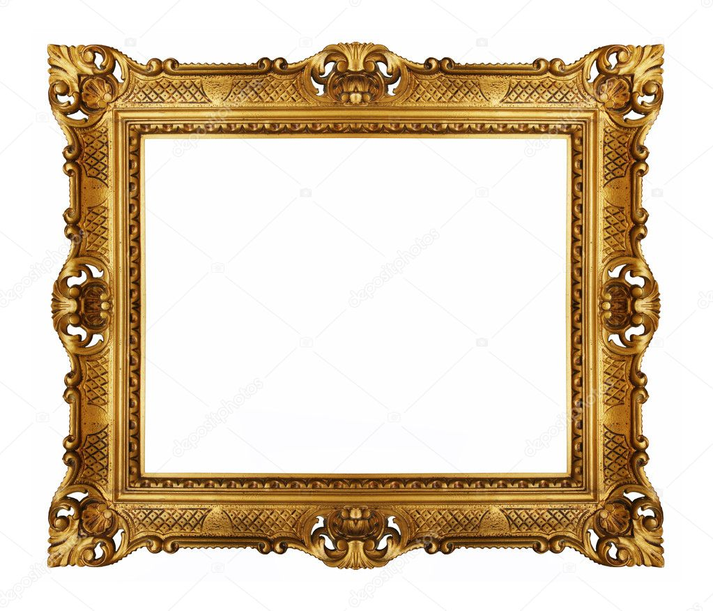 Golden vintage picture frame  Photo #5821721
