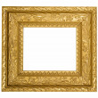 Vintage gold ornate frame — Stock Photo #5854091