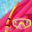 Snorkeling equipment - Stock Photo