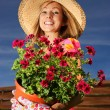 Summer gardening — Stock Photo