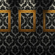 Gold ornate frames — Foto de Stock