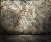 Grunge rusty interior — Stock Photo